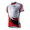 SPAKCT-Mens Cycling Short Sleeve Jerseys With 100% Polyester And Quick Dry Function Fabrics Skeleton Design