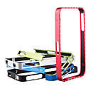 New CROSS-LINE  Metal Aluminum Element Bumper Case for Iphone4 and 4s