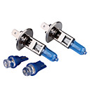h1 100w super blanc ampoules de voiture DC 12V 1 paire (obtenir deux blubs sugnal gratuit)