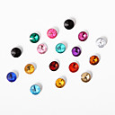 1 Carat Acrylic Crystal Confetti – Assorted Colors (1000 Ct.)