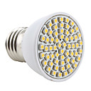 E27 3528 SMD 60-LED 200Lm Warm White Light Bulb 230V
