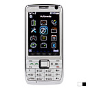 e71 - Dual SIM 3.0inch Bar Cellphone(TV FM)