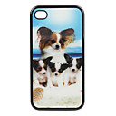 TP4 - Exquisite 3D Animal Pattern Back Cover for iPhone4 and 4s