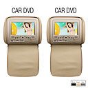 7 polegadas tela digital carro headrest DVD (800x480, jogo, cobertura de tela de proteo)