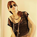 Women's Lace Cut Out Blouse