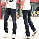Mens Straight Slim Jean Pants