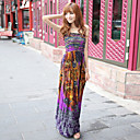 Bohemian Cotton Strap Dress