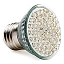 E27 60-LED 300LM 2-2.5W 6000-6500K White Spot Bulbs (220-240V)