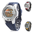 Unisex Multi-Functional Rubber Digital Automatic Wrist Watch (Assorted Colors)