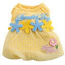 Lovable Dog Flower Fairy Dress (XS-XL, Random Color)