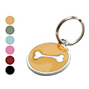 Dog Bone Style Dog Name Tag (Assorted Colors)