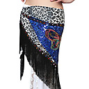 Dancewear Polyester With Animal Print/Tassels Performance Belly Dance Hip Scarf For Ladies More Colors