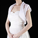 Tulle Short Sleeve Wedding / Special Occasion Jacket (More Colors)
