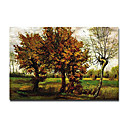 "Hand-painted Famous Oil Painting with Stretched Frame 24"" x 36"" by Van Gogh"