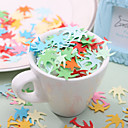 Lovely Palm Tree Shaped Paper Confetti - Pack of 350 Pieces (Random Color)