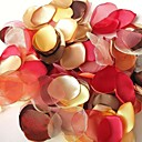  Colorful Handmade Fall Leaves Decoration - Pack of 200 Pieces (5 Colors Mixed)