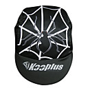 KOOPLUS-Men's 100% Polyester Cycling Cap (Black)