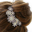 Gorgeous Alloy With Rhinestone Wedding/Special Occasion Hair Combs/Headpiece
