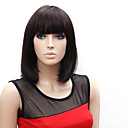 Capless Short High Quality Synthetic Japanese Kanekalon Straight Simple Style Wig Full Bang