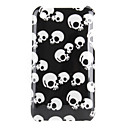 Skull Heads Pattern Hard Case for iPhone 3G and 3GS (Multi-Color)