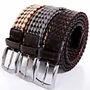 Leather Hand-weaving Waist Buckle Belt