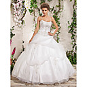 Ball Gown Spaghetti Straps Floor-length Wedding Dress
