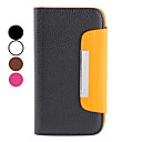 Lychee Pattern PU Leather Wallet Case for Samsung Galaxy S3 I9300 (Assorted Colors)