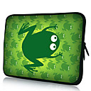 Green Frog Neoprene Laptop Sleeve Case for 10-15&quot; iPad MacBook Dell HP Acer Samsung