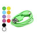 USB Sync and Charge Cable for Samsung Galaxy S3 I9300, I9100 & Others (Assorted Colors, 100cm Length)