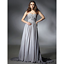 Clearance!Sweetheart Chiffon Evening Dress with Beading inspired by Selena Gomez at Emmy Awards