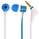 In-Ear Metal Headphone with Microphone,Black,Green,Blue,Pink,Yellow