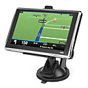 5 polegadas touchscreen carro GPS Navigator TF, USB, MP3, MP4