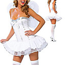 Sexy Adult Womens White Angel Halloween Costume
