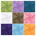 100% Polyester Woven Solid Velvet Chiffon (15D) By The Yard(Many Colors)