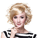 Capyless Short Bob High Quality Synthetic Golden Blonde Wig