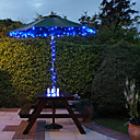 60 Blue Outdoor Led Solar Fairy Lights Christmas Decor Lamp Gifts
