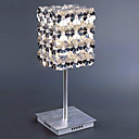 20W Comtemporary Aluminum Table Light with 1 Light in Floral Cubic Design