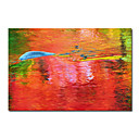 "Oil Painting Stretched Canvas Prints Abstract 20"" x 24"" Wide"