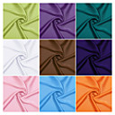100% Polyester Woven Solid Satin Chiffon By The Yard(Many Colors)