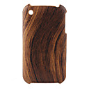 Wood Grain Design Hard Case for iPhone 3G and 3GS (Brown)