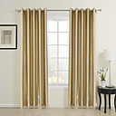 (Two Panels) Traditional Royal Jacquard Energy Saving Curtains