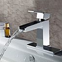 Sprinkle® - by lightinthebox - in ottone massiccio contemporanea cascata rubinetto lavabo bagno (cromato)