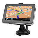 5 pouces écran tactile GPS Navigator TF, USB, MP3, WMA, MP4, Ebook