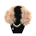 Gorgeous Alloy With Pearl/Fur Women's Necklace