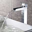 Sprinkle® - by lightinthebox - in ottone massiccio cascata lavandino del bagno rubinetto cromato (alto)