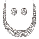 Dreamlike/ Rhinestones Ladies' Jewelry Set Including Necklace And Earrings