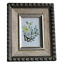 "6 ""Cadre Photo Antique Floral"