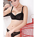 Women's Super Thin Lace Bra Set