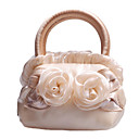 Gorgeous Fabric with Flowers and Lace Evening Handbag/Top Handle Bags(More Colors)