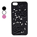 Carve Flower Patterns Hard Case for iPhone 5 (Assorted Colors)